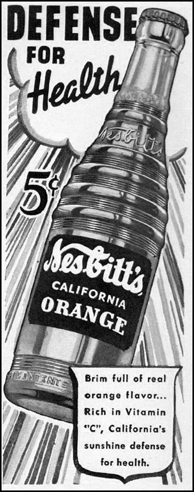 NESBITT'S ORANGE SODA LIFE 08/05/1941 p. 80