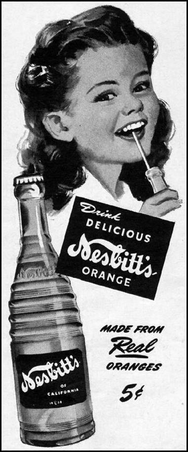 NESBITT'S ORANGE SODA LIFE 11/13/1944 p. 102