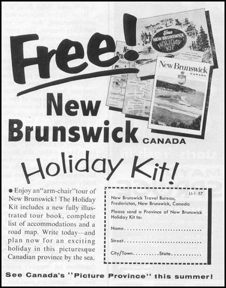 HOLIDAY INFORMATION KIT LIFE 04/08/1957 p. 139