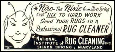 PROFESSIONAL RUG CLEANING LIFE 04/13/1953 p. 166