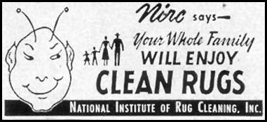 PROFESSIONAL RUG CLEANING LIFE 09/07/1953 p. 116