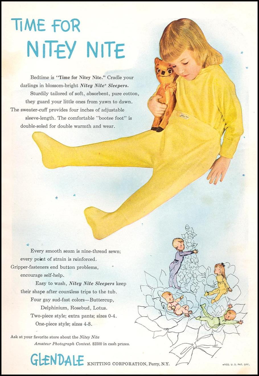 CHILDRENS' PAJAMAS WOMAN'S DAY 09/01/1948 INSIDE BACK