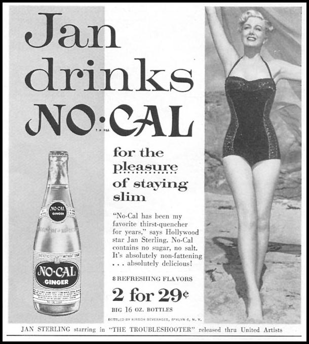 NO-CAL SODA WOMAN'S DAY 09/01/1955 p. 137