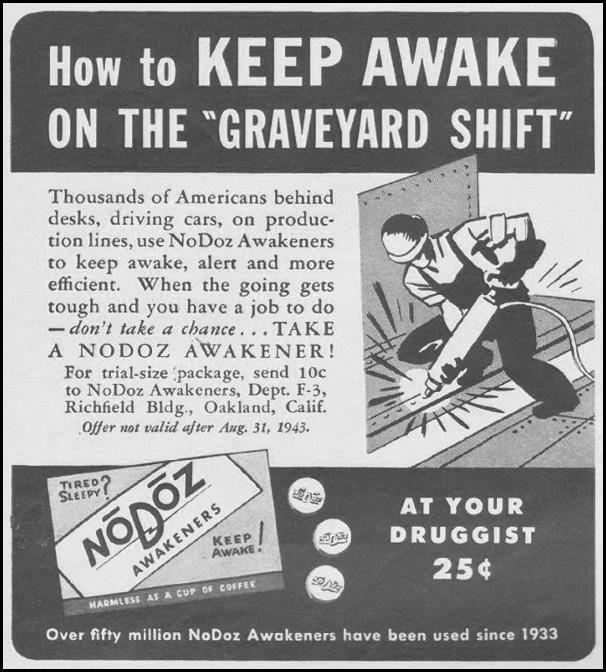 NODOZ AWAKENERS LIFE 08/09/1943 p. 92