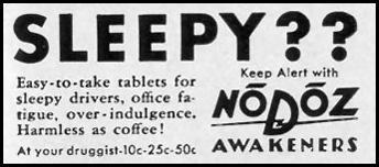 NODOZ AWAKENERS LIFE 10/13/1941 p. 149