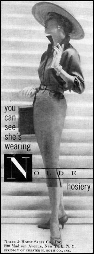 NOLDE HOSIERY LIFE 04/01/1957 p. 132