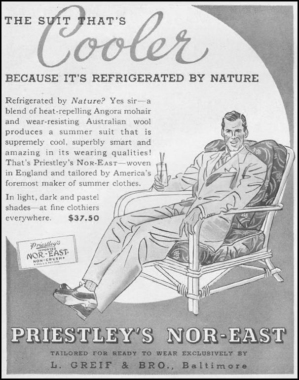 PREISTLEY'S NOR-EAST SUITS LIFE 06/22/1942 p. 12