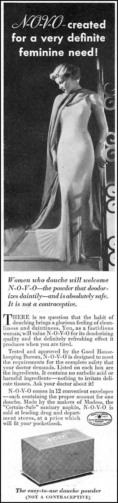 N-O-V-O GOOD HOUSEKEEPING 04/01/1936 p. 221