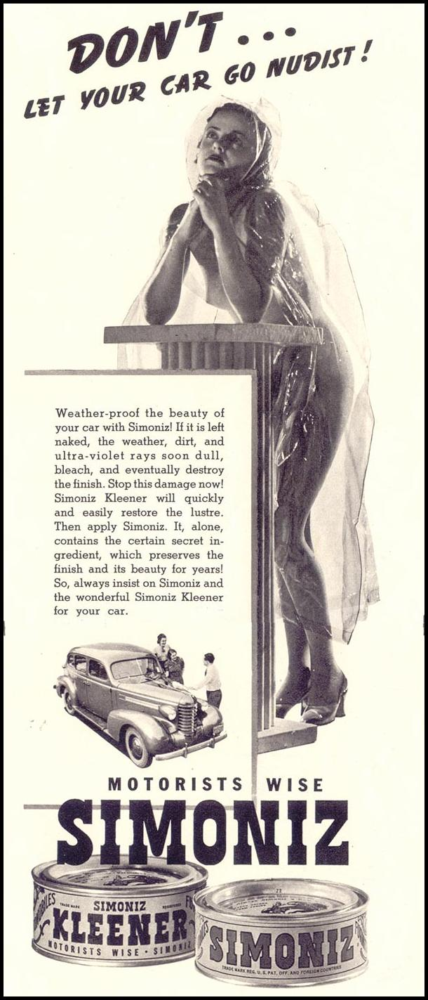 SIMONIZ CAR WAX LIFE 07/26/1937 p. 93