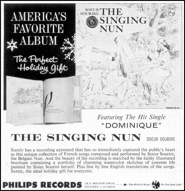THE SINGING NUN TIME 12/06/1963 p. 128
