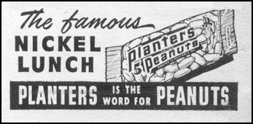 PLANTERS PEANUTS LIFE 06/05/1950 p. 128