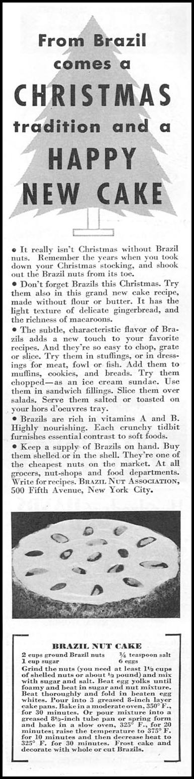 BRAZIL NUTS GOOD HOUSEKEEPING 12/01/1934 p. 159