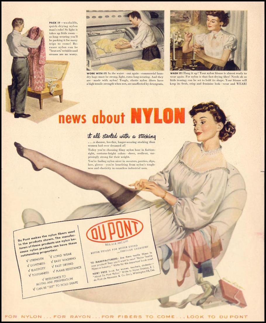 DU PONT NYLON LIFE 10/11/1948 p. 9