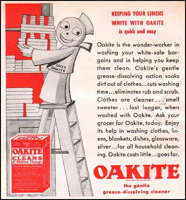 OAKITE GOOD HOUSEKEEPING 01/01/1940 p. 1