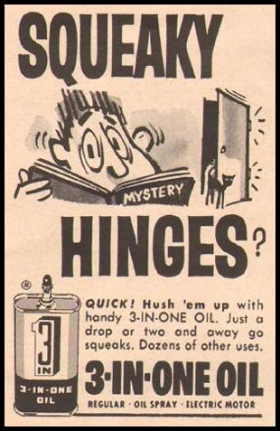 3-IN-ONE OIL BETTER HOMES AND GARDENS 03/01/1960 p. 130