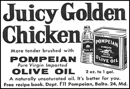POMPEIAN OLIVE OIL FAMILY CIRCLE 11/01/1957 p. 68