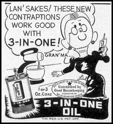 3-IN-ONE OIL WOMAN'S DAY 02/01/1947 p. 109