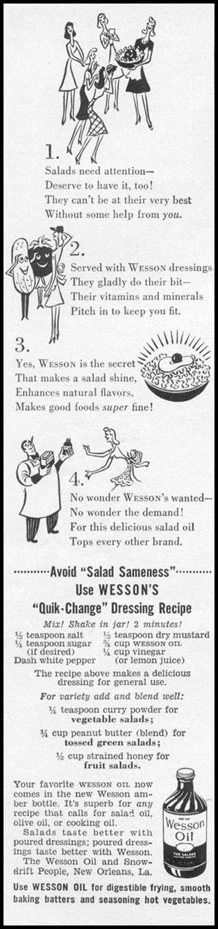 WESSON OIL WOMAN'S DAY 05/01/1943 p. 14