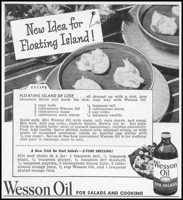 WESSON OIL WOMAN'S DAY 06/01/1946 p. 54