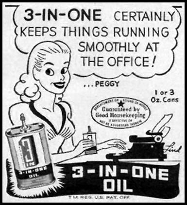 3-IN-ONE OIL WOMAN'S DAY 06/01/1947 p. 104