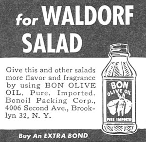 BON OLIVE OIL WOMAN'S DAY 11/01/1945 p. 88