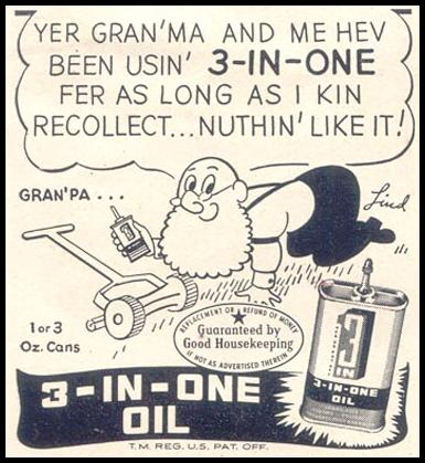 3-IN-ONE OIL GOOD HOUSEKEEPING 07/01/1949 p. 182