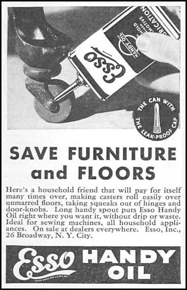 ESSO HANDY OIL GOOD HOUSEKEEPING 12/01/1933 p. 183