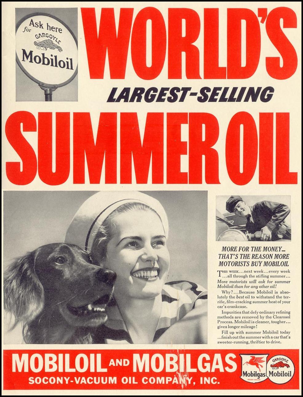 MOBILOIL LIFE 08/09/1937 INSIDE BACK