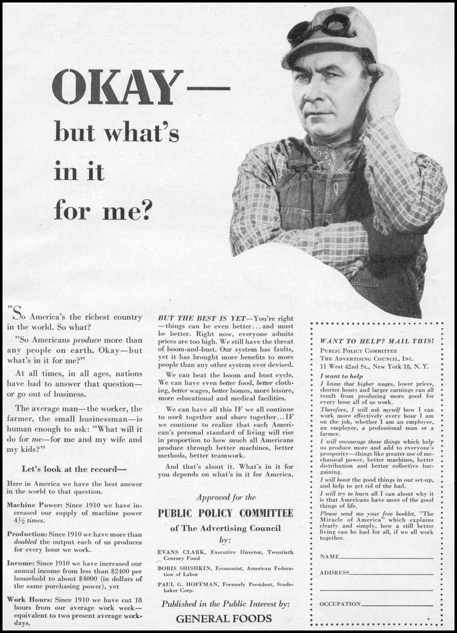 AMERICAN PRODUCTIVITY WOMAN'S DAY 12/01/1948 p. 73