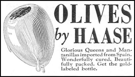 OLIVES BY HAASE WOMAN'S DAY 11/01/1946 p. 94
