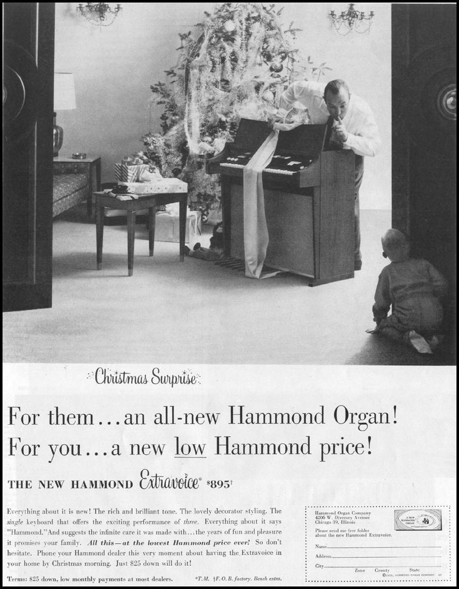 HAMMOND EXTRAVOICE ORGAN LIFE 12/14/1959 p. 15