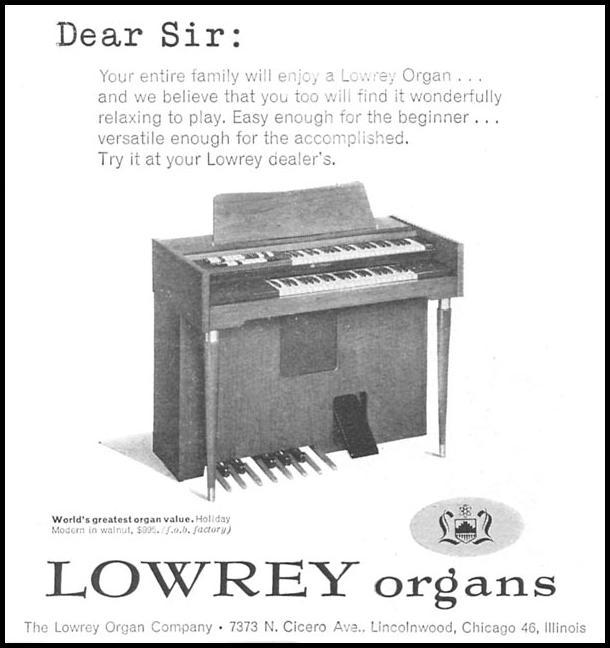 LOWREY ORGANS TIME 09/15/1958 p. 76