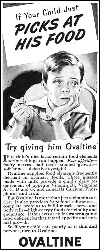 OVALTINE WOMAN'S DAY 04/01/1946 p. 95