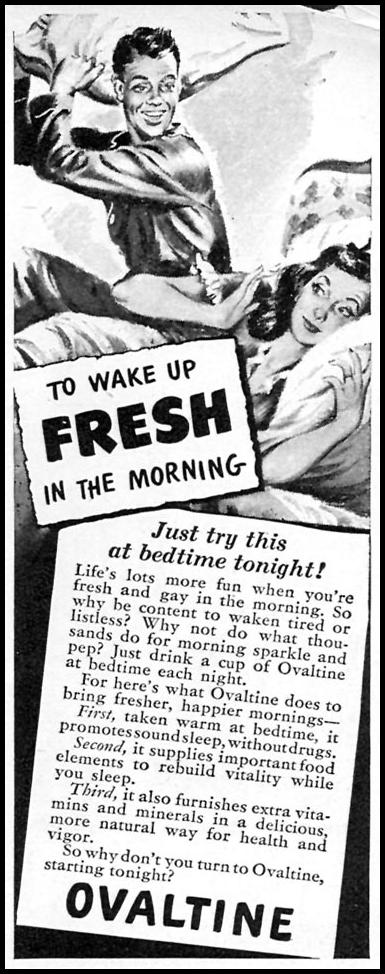 OVALTINE WOMAN'S DAY 11/01/1946 p. 103
