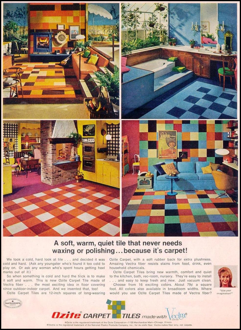 OZITE CARPET TILES LIFE 05/19/1967