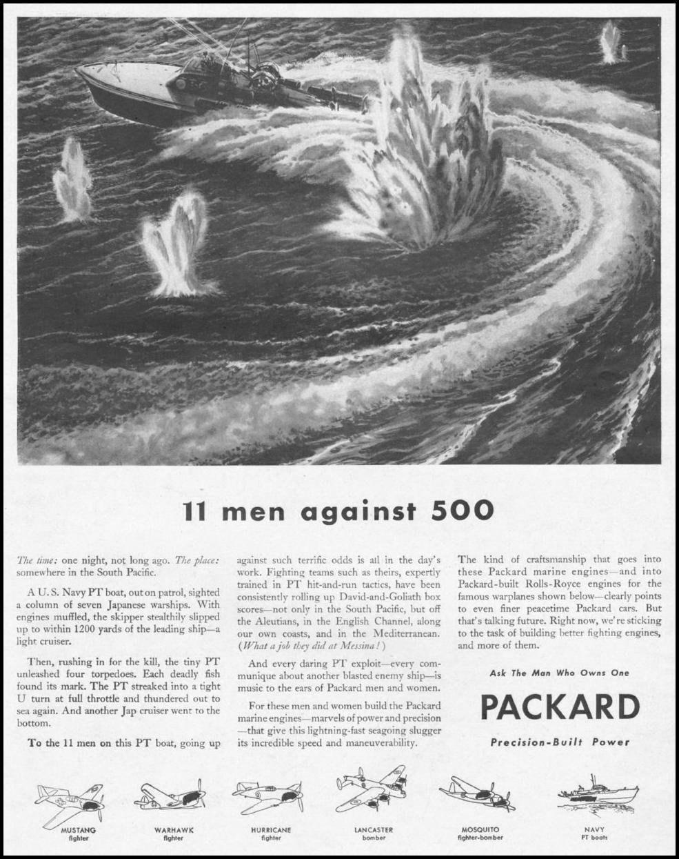 PACKARD WAR PRODUCTION LIFE 10/25/1943 p. 43
