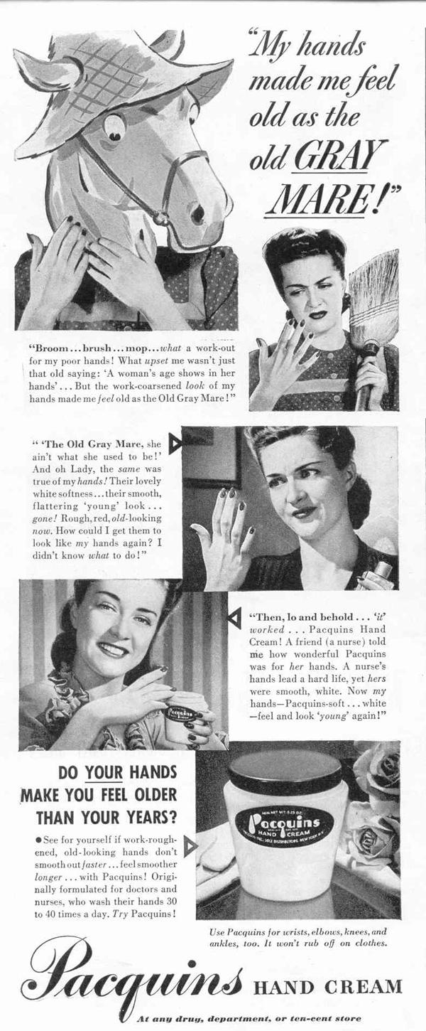 PACQUINS HAND CREAM LIFE 02/14/1944 p. 38