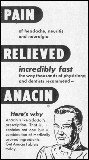 ANACIN ANALGESIC TABLETS LIFE 12/27/1948 p. 4