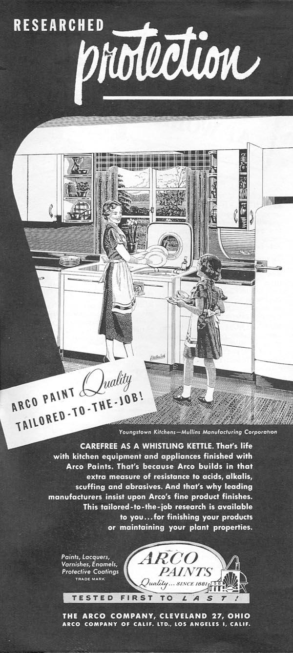 ARCO PAINTS NEWSWEEK 06/11/1951 p. 70