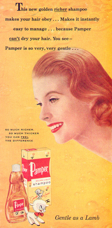 PAMPER SHAMPOO PHOTOPLAY 08/01/1956 p. 22
