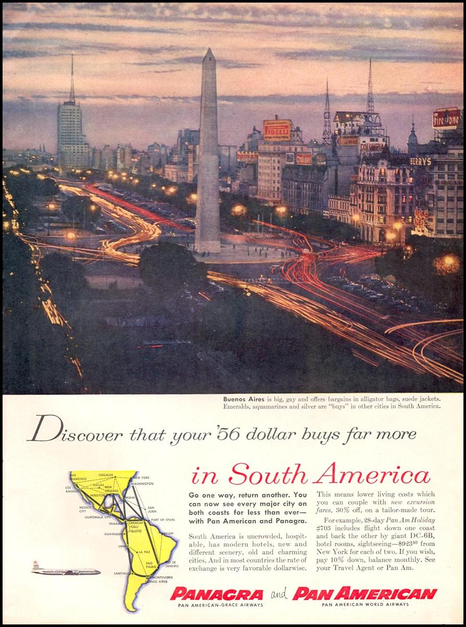 SOUTH AMERICAN TRAVEL TIME 09/17/1956 p. 43