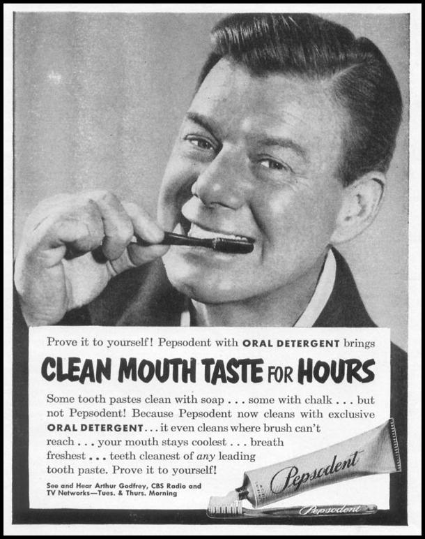 PEPSODENT TOOTHPASTE LIFE 06/16/1952 p. 78