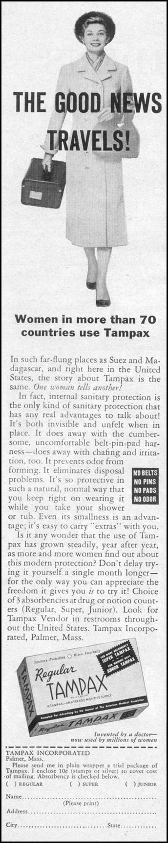 TAMPAX LIFE 11/14/1955 p. 194