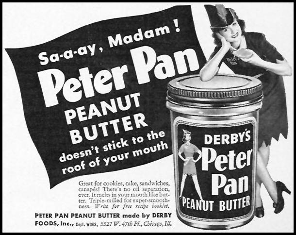 PETER PAN PEANUT BUTTER WOMAN'S DAY 06/01/1943 p. 69