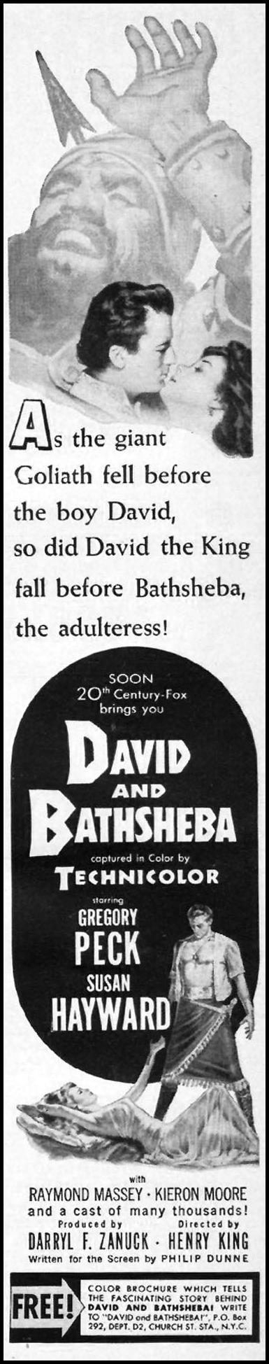DAVID AND BATHSHEBA LIFE 09/03/1951 p. 99