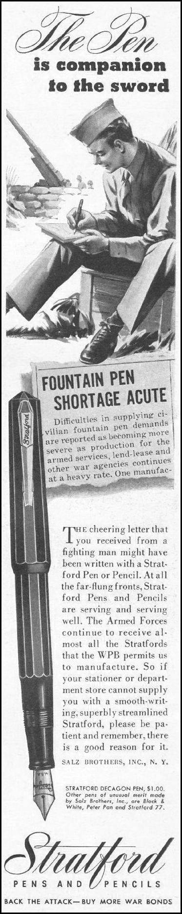 STRATFORD PENS LIFE 10/25/1943 p. 6
