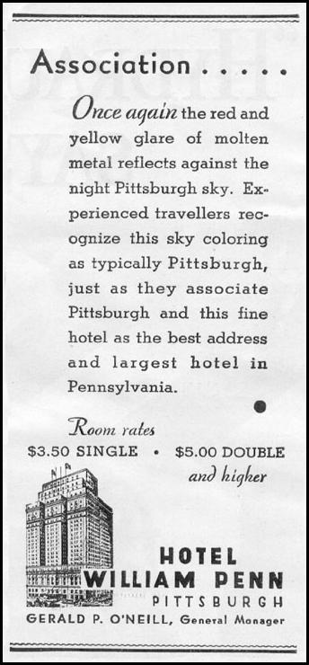 HOTEL WILLIAM PENN NEWSWEEK 05/04/1935 p. 2