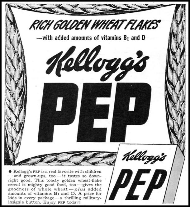 KELLOGG'S PEP WOMAN'S DAY 07/01/1945 p. 76