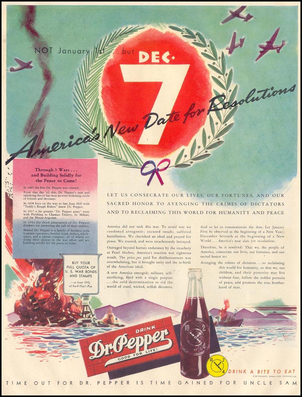 DR. PEPPER LIFE 11/30/1942