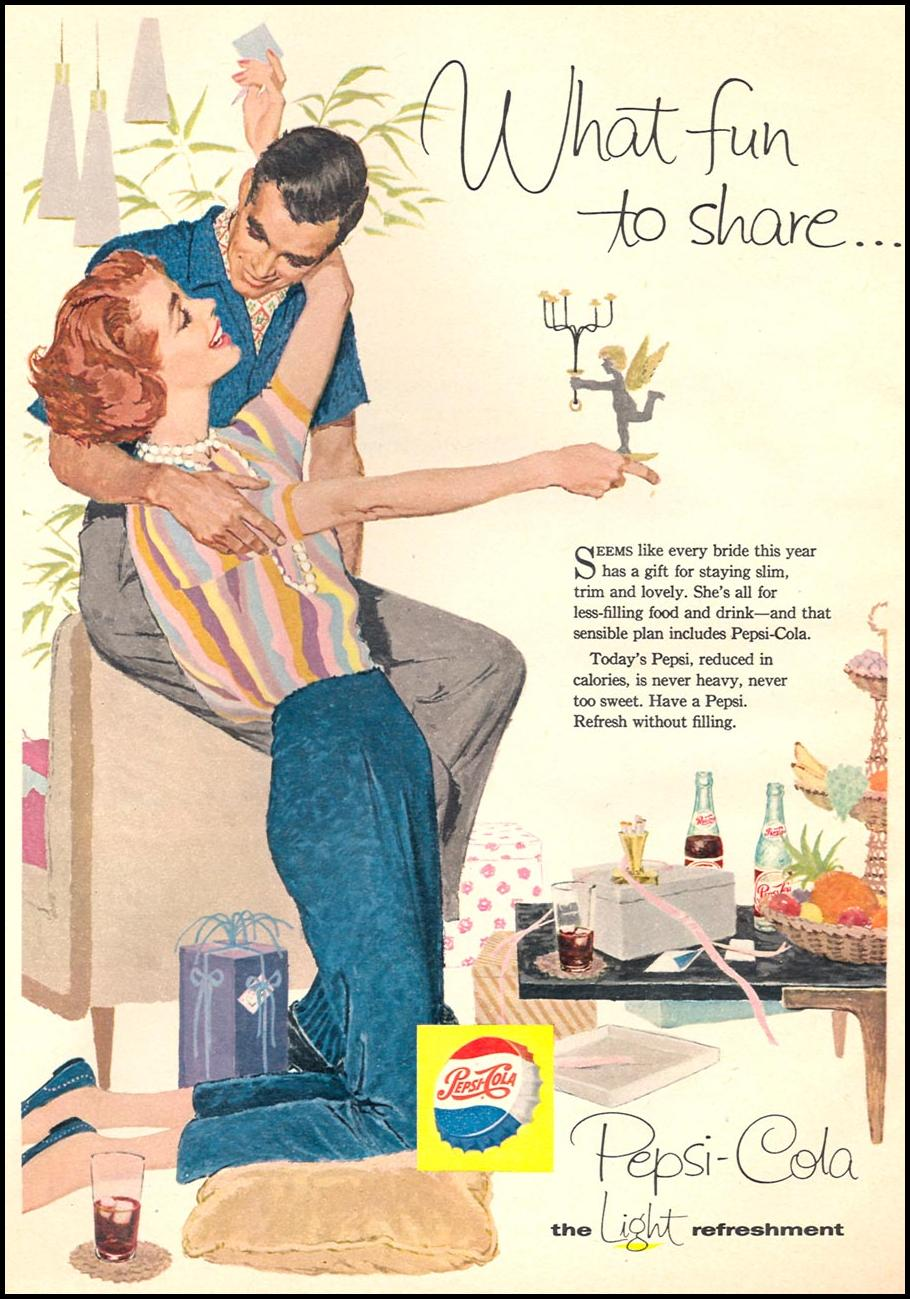 PEPSI-COLA WOMAN'S DAY 06/01/1958 p. 26